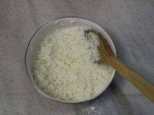 pirinçleri yormadan